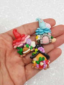 Flat Back Clay Embellishment New fairy house