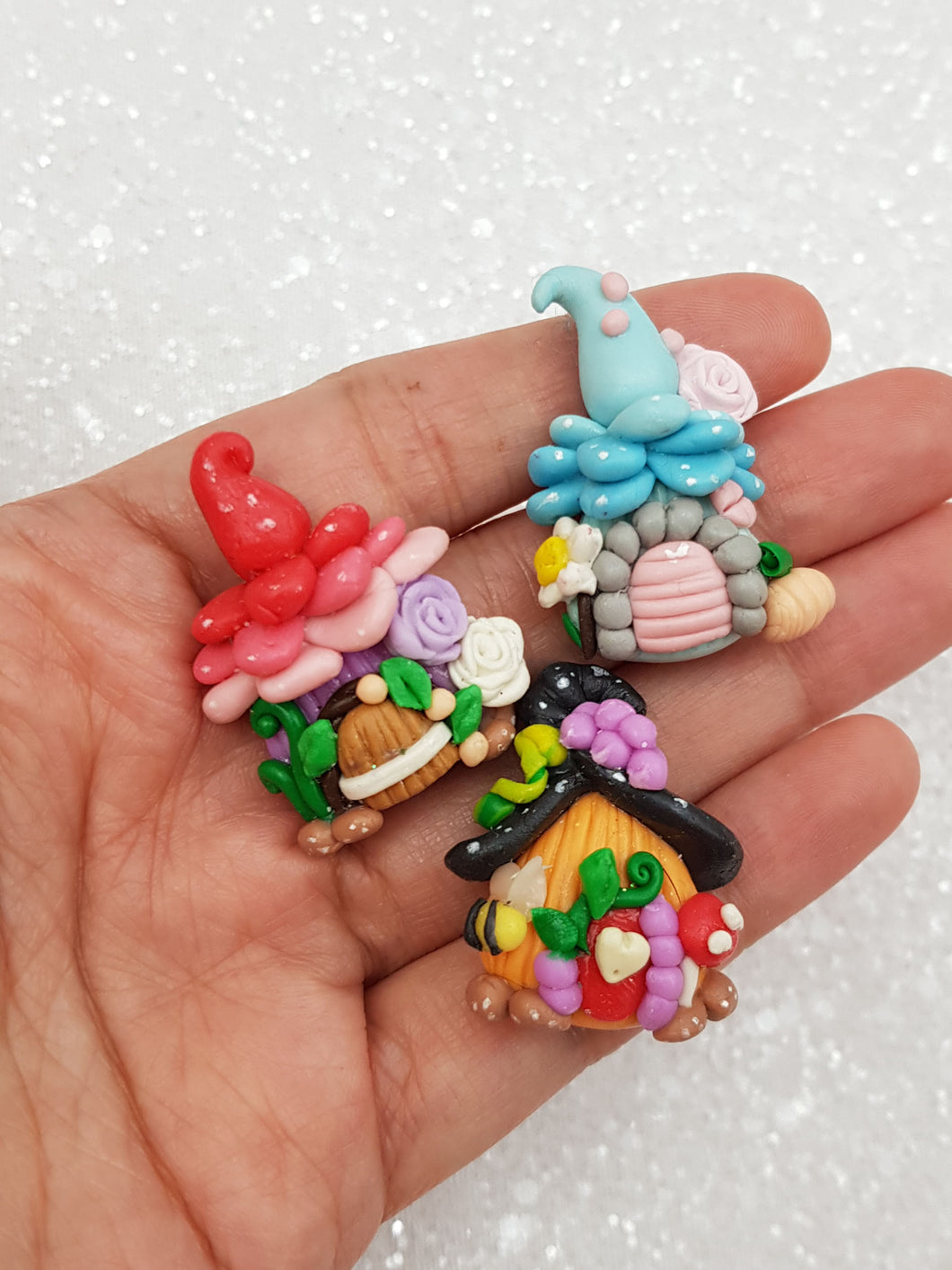 Clay Charm Embellishment - New Fairy House - Crafty Mood