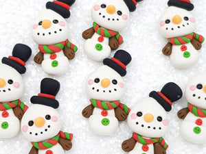 Clay Embellishment new snowman top hat - Crafty Mood