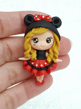 Load image into Gallery viewer, Clay Charm Embellishment - NEW MOUSE GIRL C - Crafty Mood