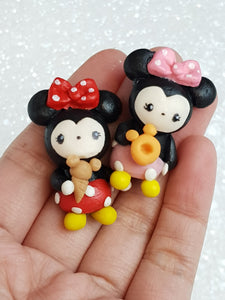 Clay Charm Embellishment - New Mouse C - Crafty Mood