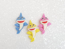 Load image into Gallery viewer, Clay Charm Embellishment - SHARK - Crafty Mood