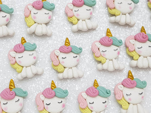 Clay Charm Embellishment - UNICORN FULL BODY - Crafty Mood