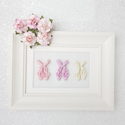 Clay Charm Embellishment - NEW BALLERINA  SHOES - Crafty Mood
