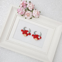 Load image into Gallery viewer, Clay Charm Embellishment - New Highland Cow - Crafty Mood