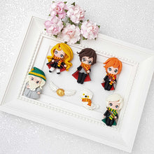 Load image into Gallery viewer, Clay Charm Embellishment - Wizard Friends limited - Crafty Mood