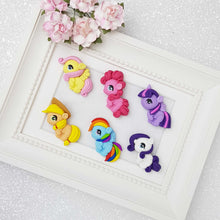 Load image into Gallery viewer, Clay Charm Embellishment - Colorful Pony Gang - Crafty Mood