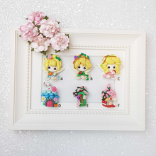 Load image into Gallery viewer, Clay Charm Embellishment - Fairy and House B - Crafty Mood