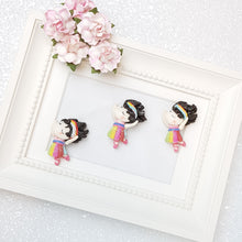 Load image into Gallery viewer, Sale clay Charm Embellishment - Dancing Fancy - Crafty Mood