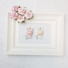 Load image into Gallery viewer, Clay Charm Embellishment - NEW Caticorn Rainbow - Crafty Mood