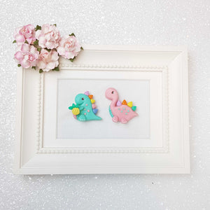 Sale Clay Charm Embellishment - The Dinos - Crafty Mood