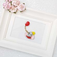 Load image into Gallery viewer, Clay Charm Embellishment - elephant balloon - Crafty Mood