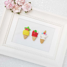 Load image into Gallery viewer, Clay Charm Embellishment - The Summer Ice Cream - Crafty Mood