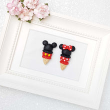 Load image into Gallery viewer, Clay Charm Embellishment - The Mouse in Cone - Crafty Mood