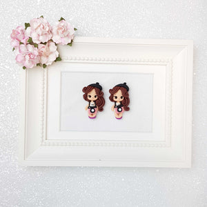 Clay Charm Embellishment - The Photographer Girl