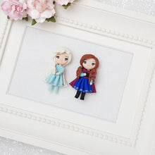 Load image into Gallery viewer, Clay Charm Embellishment - The little princesses - Crafty Mood