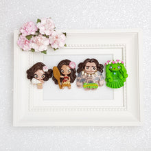 Load image into Gallery viewer, Clay Charm Embellishment - NEW LUXE PRINCESS OF THE SEA - B - Crafty Mood