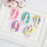 Handmade Clay Embellishment - NEW SPECIAL MERMAID - Crafty Mood