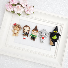 Load image into Gallery viewer, Clay Charm Embellishment - Witch and Girl Big Eyes - Crafty Mood