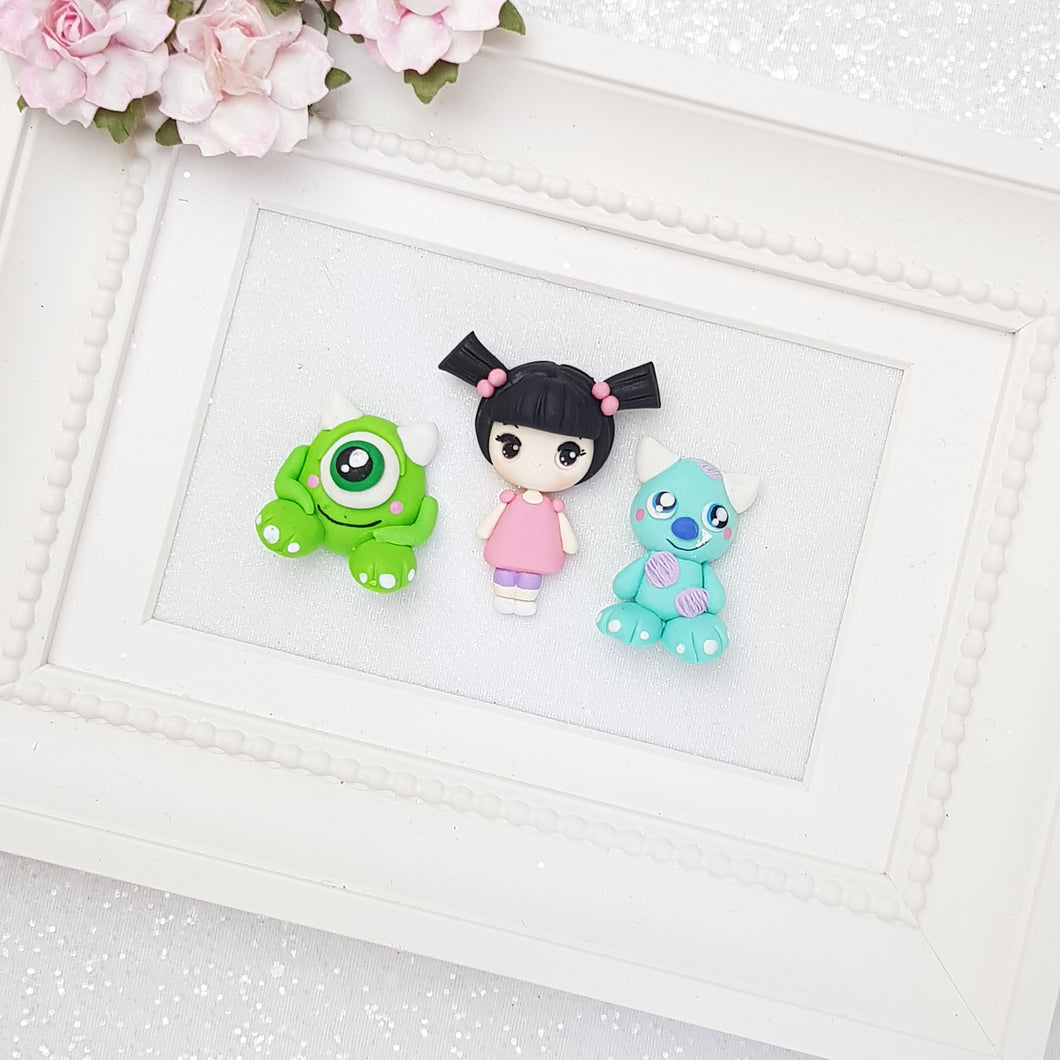 Clay Charm Embellishment - New Monster - Crafty Mood