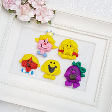 Load image into Gallery viewer, Sale Clay Charm Embellishment - mr and friend - Crafty Mood