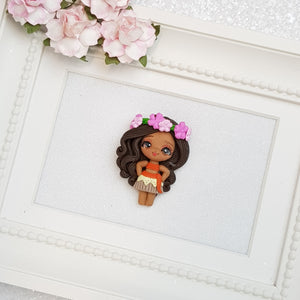Clay Charm Embellishment - Girl of The Sea Limited - Crafty Mood