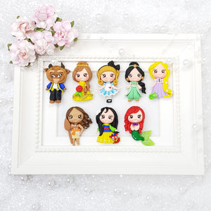 Classic Princess - Embellishment Clay Bow Centre - Crafty Mood