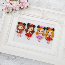 Load image into Gallery viewer, Polka Dot Bow Girls - Embellishment Clay Bow Centre - Crafty Mood