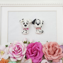 Load image into Gallery viewer, Cute dalmatian puppy - Embellishment Clay Bow Centre