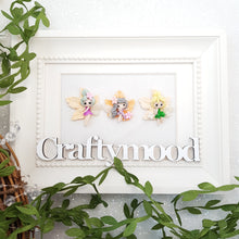 Load image into Gallery viewer, Adorable Autumn Fairies - Embellishment Clay Bow Centre