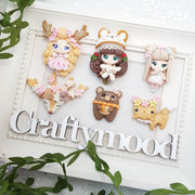 Clay Charm Embellishment - Autumn Exclusive