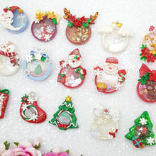 Load image into Gallery viewer, Beautiful Christmas Shaker - Embellishment Clay Bow Centre