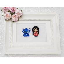 Load image into Gallery viewer, Clay Charm Embellishment - Hula Girl Big Eyes - Crafty Mood