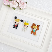 Dressing Up Mini Lux - Embellishment Clay Bow Centre - Crafty Mood