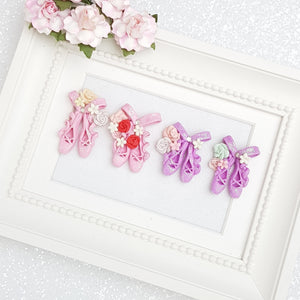 Clay Charm Embellishment - Ballerina Shoes - Crafty Mood
