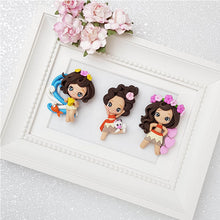 Load image into Gallery viewer, Clay Charm Embellishment - Girl of The Sea Limited - Crafty Mood