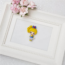 Load image into Gallery viewer, Clay Charm Embellishment - Rainbow Girl Mini Lux - Crafty Mood