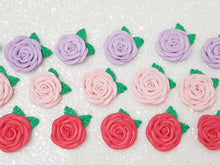 Load image into Gallery viewer, Clay Charm Embellishment - Rose - Large or Small - Crafty Mood