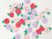 Clay Charm Embellishment - Rose - Large or Small - Crafty Mood