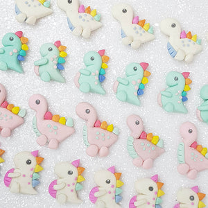 Clay Charm Embellishment - The Dinos - Crafty Mood
