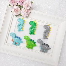 Load image into Gallery viewer, Clay Charm Embellishment - Dino - B - Crafty Mood
