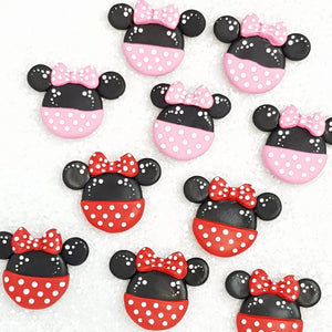 Clay Charm Embellishment - Mouse - Crafty Mood