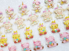 Load image into Gallery viewer, Sale Clay Charm Embellishment - NEW Cute Animals - Crafty Mood