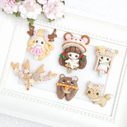 Sale Clay Charm Embellishment - Autumn Exclusive - Crafty Mood