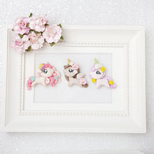 Load image into Gallery viewer, Clay Charm Embellishment - Pony Unicorn - Crafty Mood
