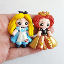 Load image into Gallery viewer, Clay Charm Embellishment - NEW WONDERLAND GIRL - Crafty Mood