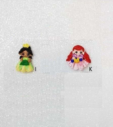 SALE Clay Charm Embellishment - The Fancy Princess cyber