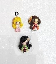 Load image into Gallery viewer, Clay Charm Embellishment - New Mini Luxe Princess