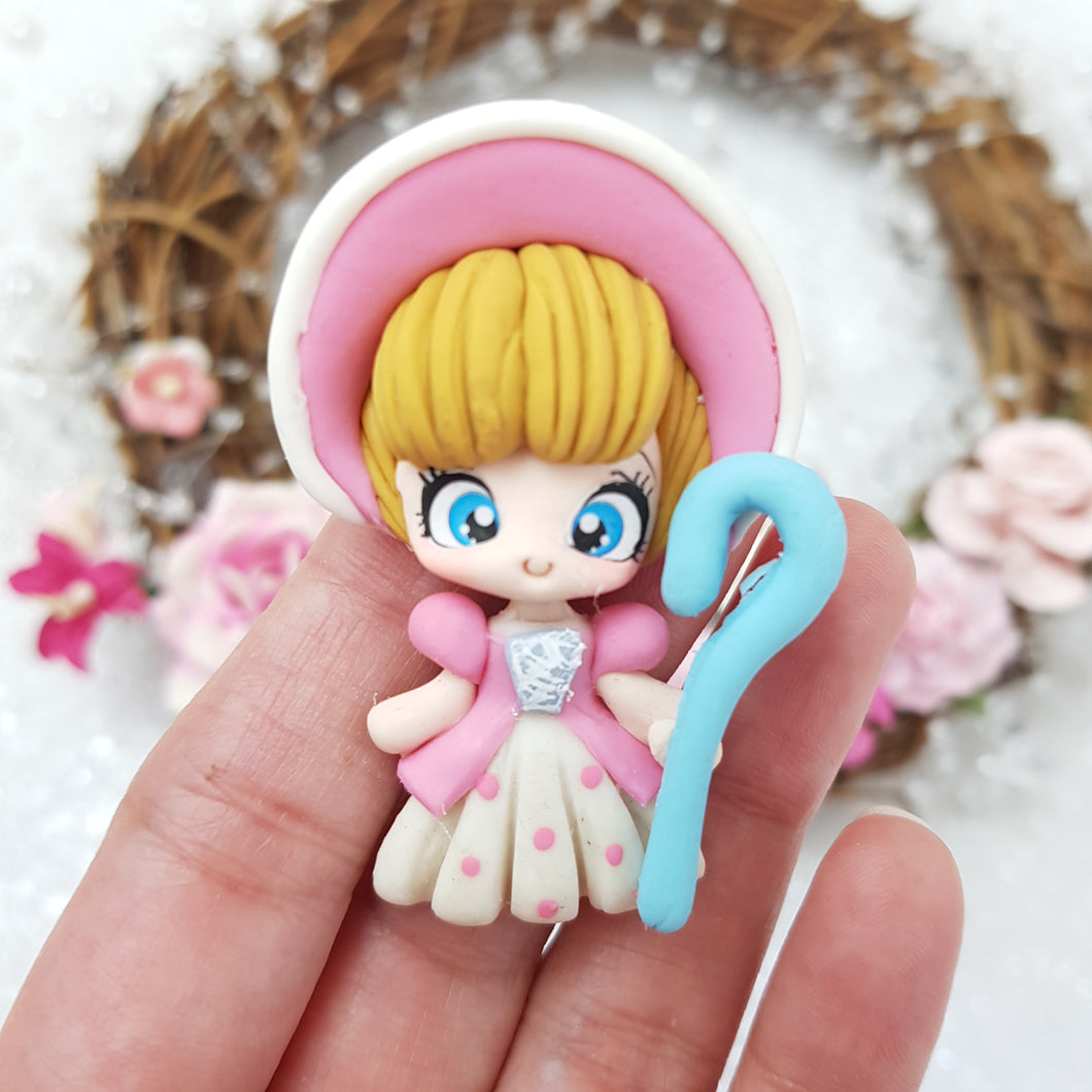 Shepherd Girl - Embellishment Clay Bow Centre - Crafty Mood
