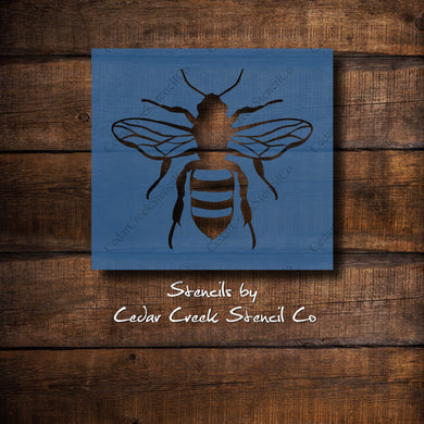 Bee Stencil, Reusable craft stencil, Insect stencil, Bug stencil, Honey Bee stencil, Farmhouse stencil., wasp stencil, bumble bee stencil